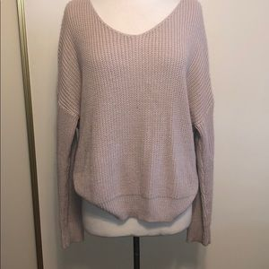 Vici twistback sweater